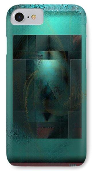 Emerald Rain IPhone Case by Ines Garay-Colomba