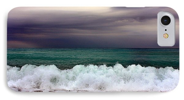 IPhone Case featuring the photograph Emerald Sea by Martina  Rathgens
