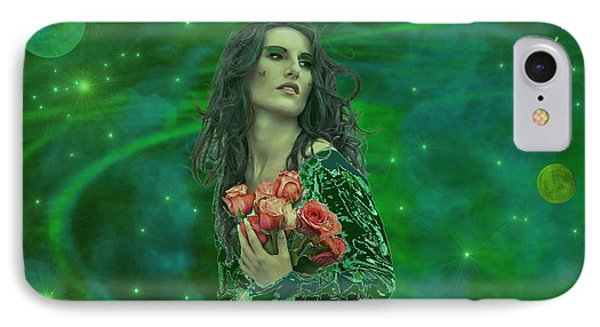 Emerald Universe IPhone Case by Michael Rucker