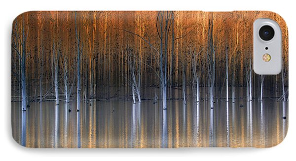 Emerging Beauties Reflected Phone Case by Marco Crupi