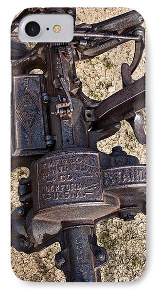 Emerson Brantingham Farming Revolution Phone Case by Lee Craig