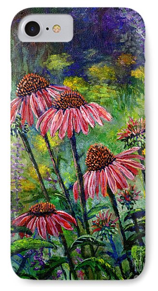 IPhone Case featuring the painting Emily's Flowers by Lou Ann Bagnall