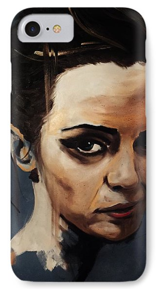 Emma Watson IPhone Case by Matt Burke
