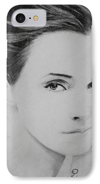 Emma Watson Minimalist IPhone Case