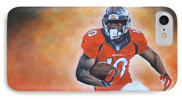 Emmanuel Sanders IPhone Case