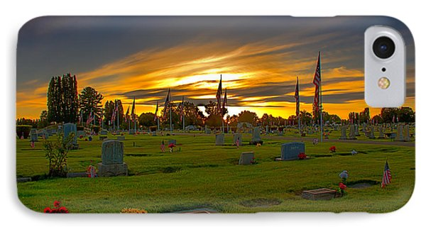 Emmett Cemetery Phone Case by Robert Bales
