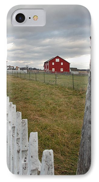 Emmitsburg Rd Phone Case by Jim Cook