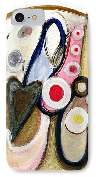 IPhone Case featuring the painting Emotions by Stephen Lucas