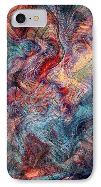 Empathic Psychic Phone Case by Linda Sannuti