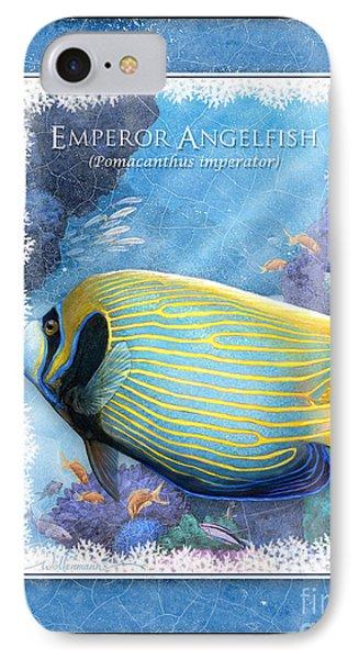 Emperor Angelfish IPhone Case