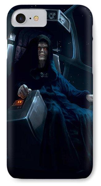 Emperor Palpatine IPhone Case