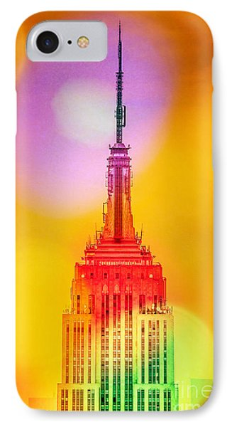 Empire State Building 6 IPhone Case