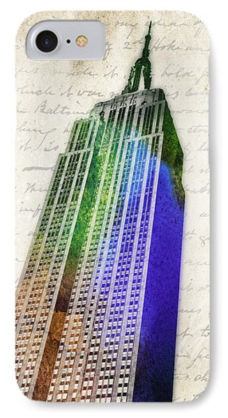 Empire State Building Phone Case by Aged Pixel