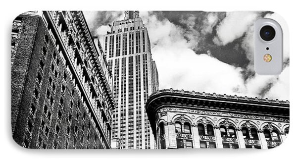Empire State Building And New York City Skyline IPhone Case by Vivienne Gucwa