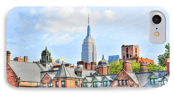 Empire State Building From The High Line Phone Case by Randy Aveille