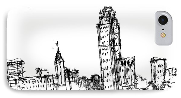 Empire State Building  IPhone Case by Jason Nicholas