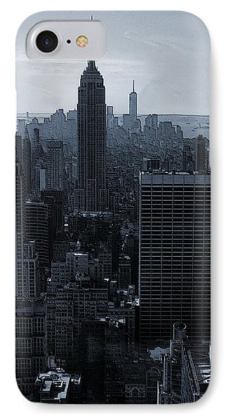 Empire State Of Mind IPhone Case by Dan Sproul