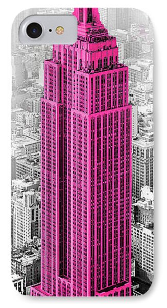Empire State Of Mind IPhone Case by Shelley Lake