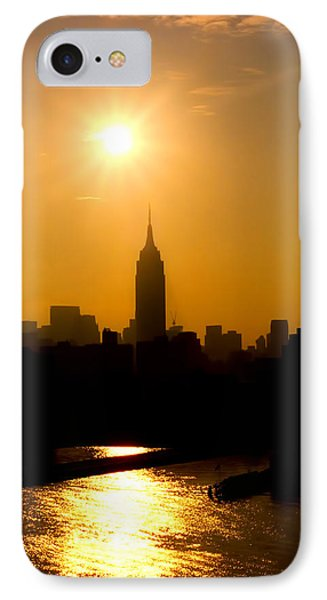 Empire Sunrise Phone Case by Joann Vitali
