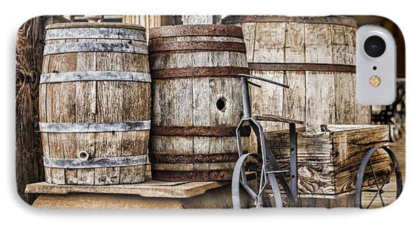 Emptied Barrels IPhone Case by Heather Applegate