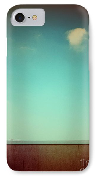 Emptiness With Wall And Cloud IPhone Case