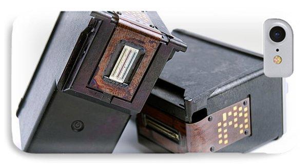 Empty Ink Cartridges Phone Case by Sinisa Botas