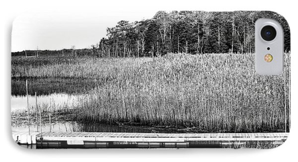 Empty Pine Barrens Phone Case by John Rizzuto
