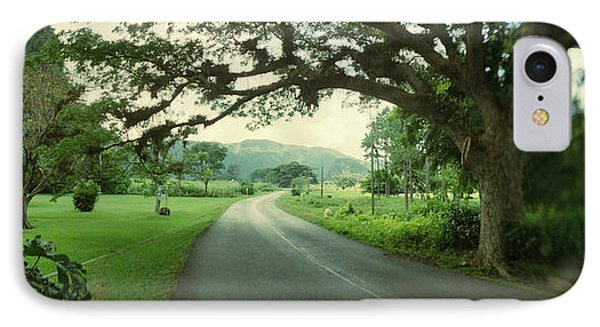 Empty Road Passing Through Vinales IPhone Case