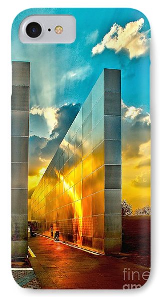 Empty Skies Sunset IPhone Case by Nick Zelinsky