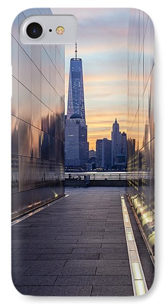 Empty Sky Memorial And The Freedom Tower IPhone Case