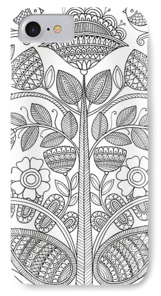 Emroidery Pattern 1 IPhone Case