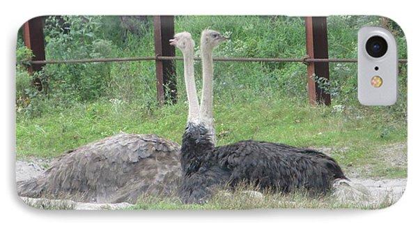 Emu Birds Phone Case by Sonali Gangane