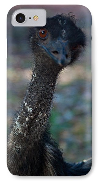 IPhone Case featuring the photograph Emu by Carole Hinding