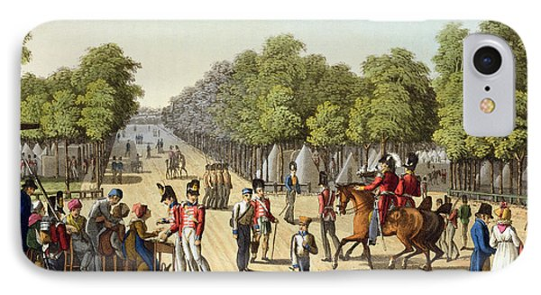 Encampment Of The British Army IPhone Case