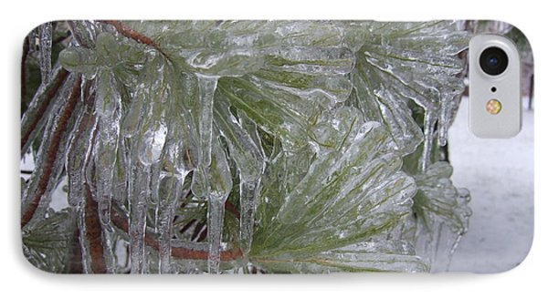 Encased In Ice IPhone Case by Deborah DeLaBarre