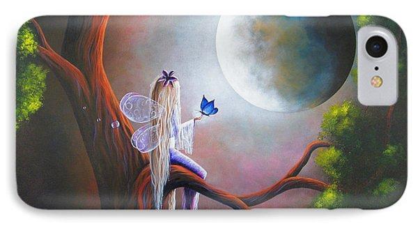 Original Fairy Artwork By Shawna Erback IPhone Case by Shawna Erback