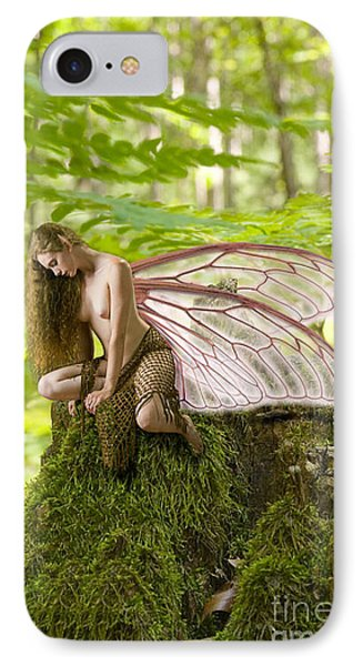 Enchanted Fairy IPhone Case by Tbone Oliver