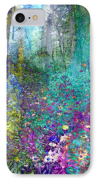 Enchanted Forest IPhone Case by Ann Powell