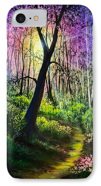 Enchanted Forest IPhone Case by C Steele