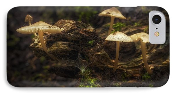 Mushroom iPhone 7 Case - Enchanted Forest by Scott Norris
