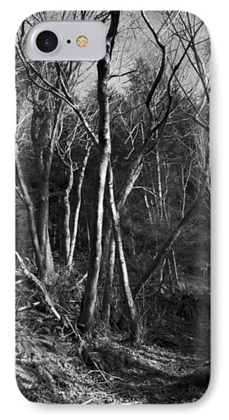 IPhone 7 Case featuring the photograph Enchanted Forest by Yulia Kazansky