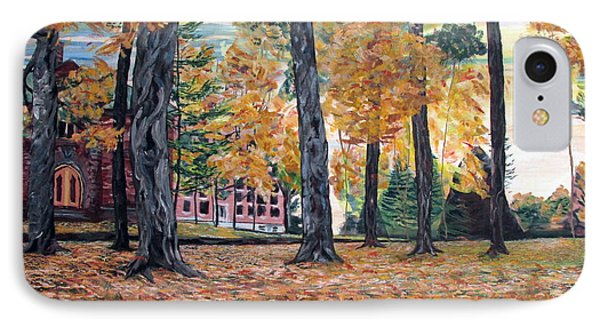 Enchanted Forrest In The Fall IPhone Case by Denny Morreale