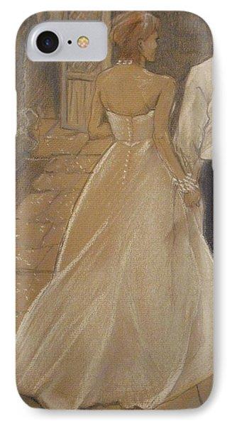 Enchanted Wedding Night IPhone Case by Michelle Deyna-Hayward