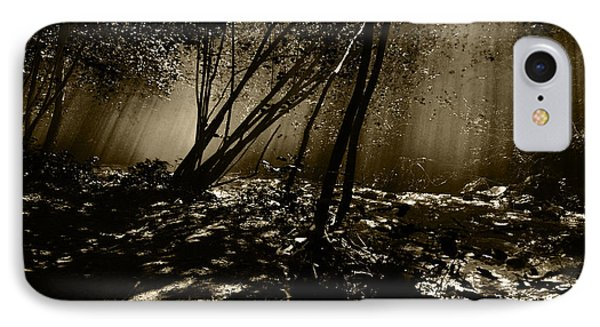 IPhone Case featuring the photograph Enchanted Wood by Simona Ghidini