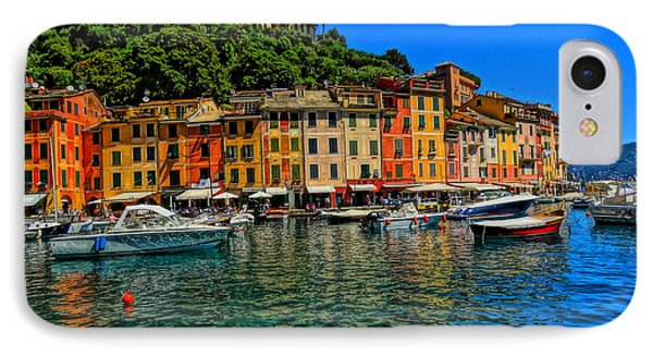 Enchanting Portofino In Ligure Italy II Phone Case by M Bleichner