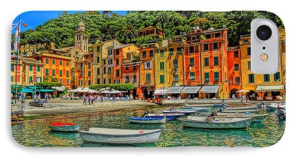 Enchanting Portofino In Ligure Italy IIi Phone Case by M Bleichner