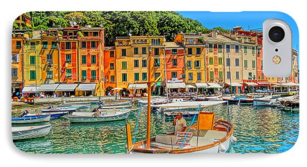 Enchanting Portofino In Ligure Italy V Phone Case by M Bleichner