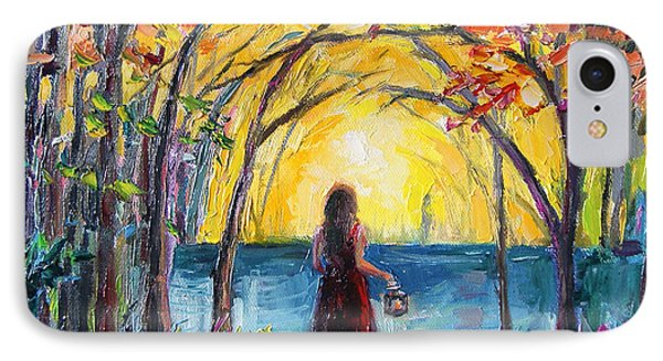 IPhone Case featuring the painting Enchanted by Jennifer Beaudet