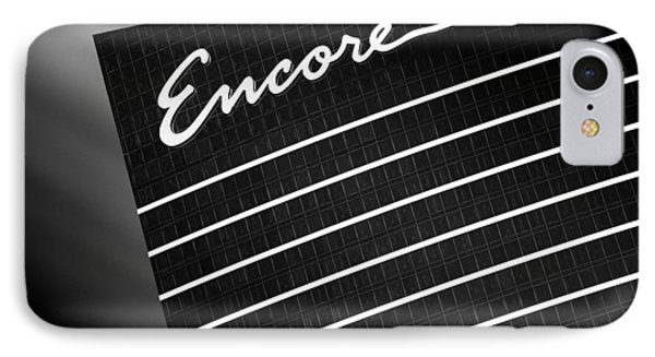 Encore IPhone Case by Dave Bowman