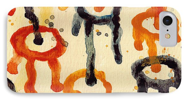 Encounters 4 IPhone Case by Amy Vangsgard